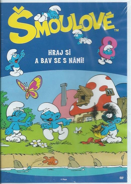 DVD Šmoulové 8