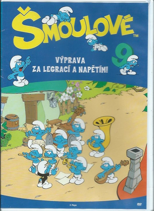 DVD Šmoulové 9