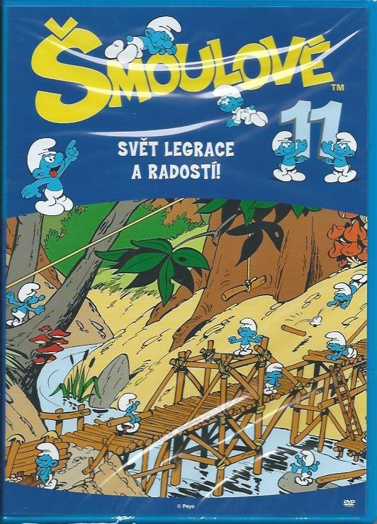 DVD Šmoulové 11