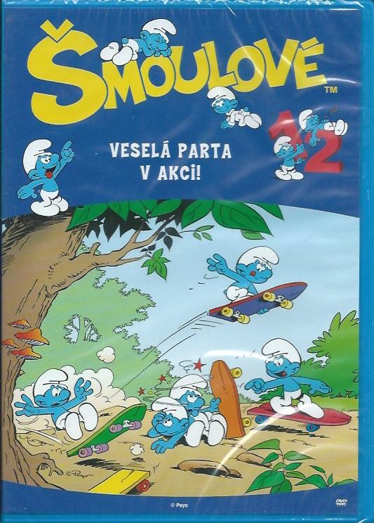 DVD Šmoulové 12