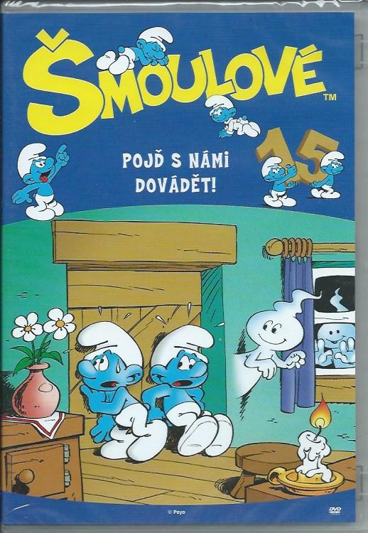 DVD Šmoulové 15