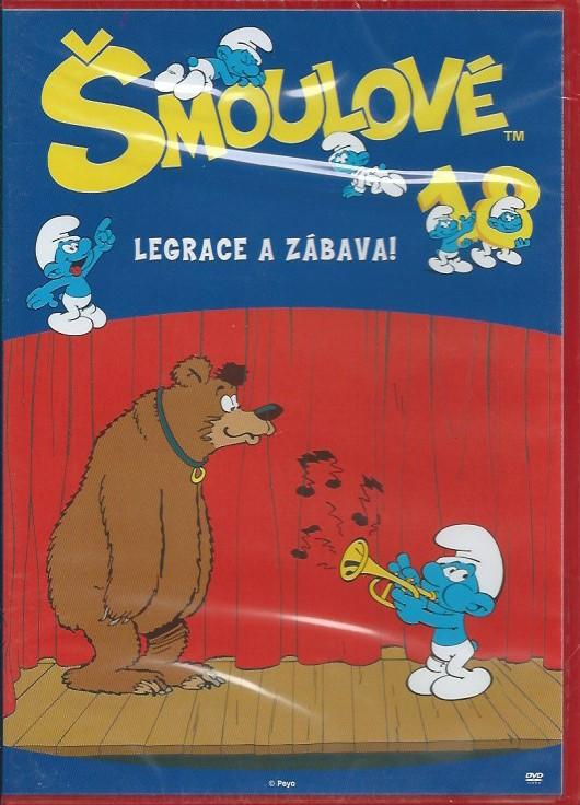 DVD Šmoulové 18