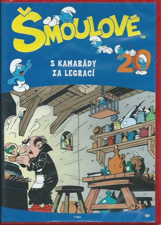 DVD Šmoulové 20