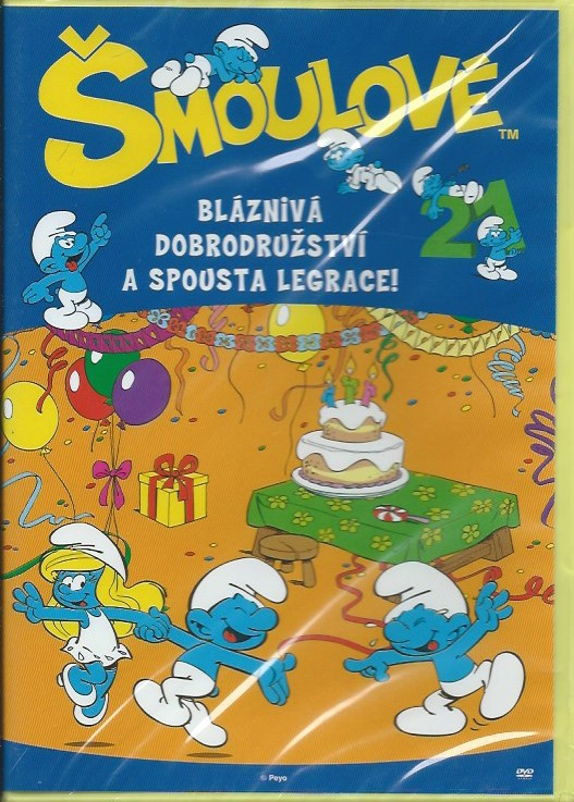 DVD Šmoulové 21