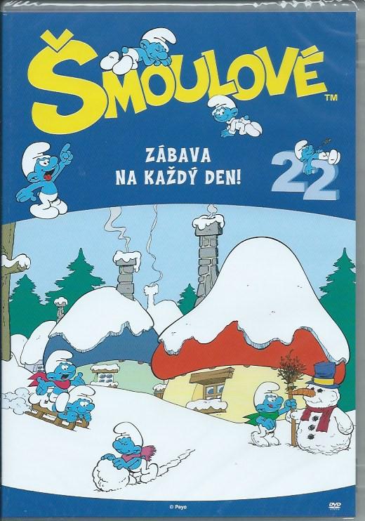 DVD Šmoulové 22