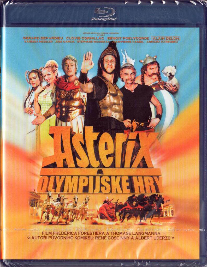 Blu-ray Asterix a Olympijsk� hry