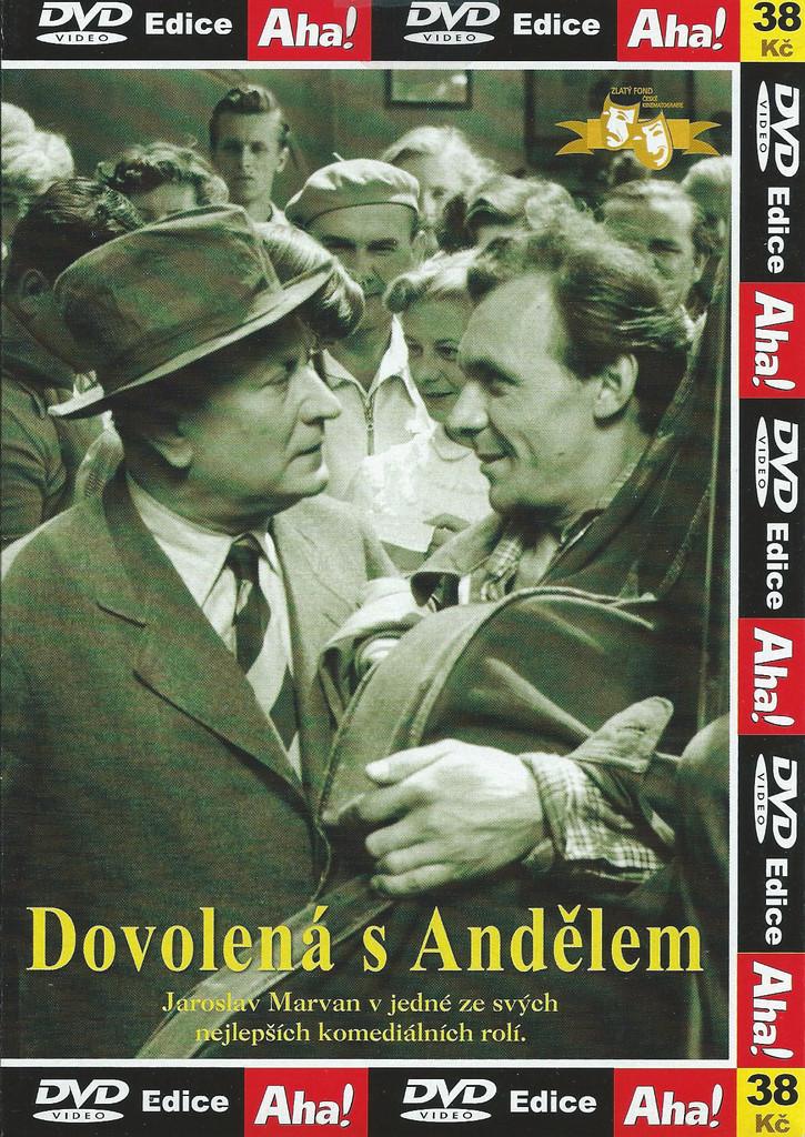 DVD Dovolená s Andělem