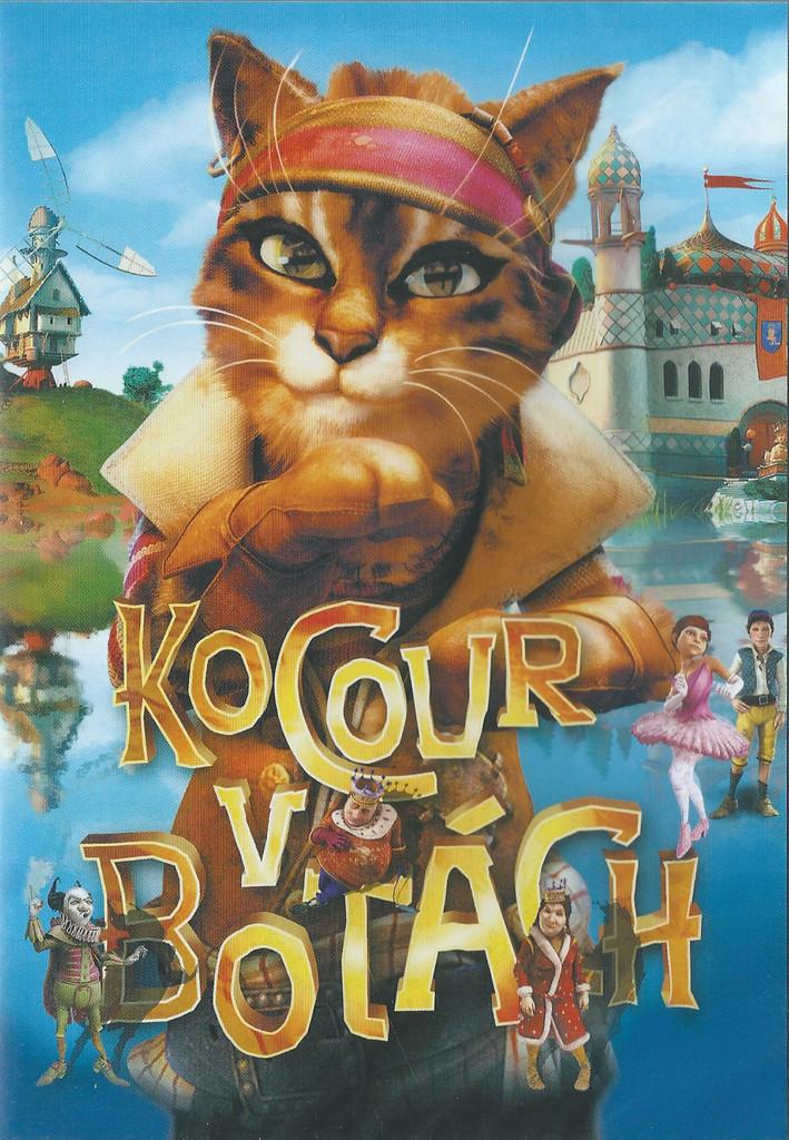 DVD Kocour v bot�ch (slim box)