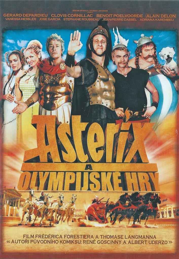 DVD Asterix a Olympijsk� hry