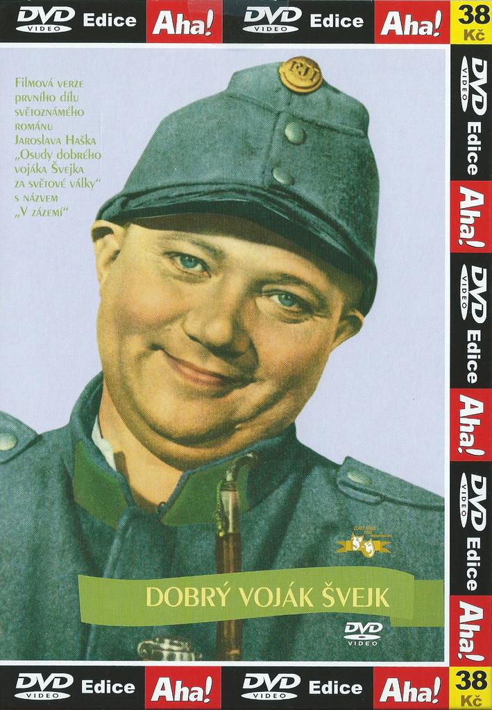 DVD Dobrý voják Švejk