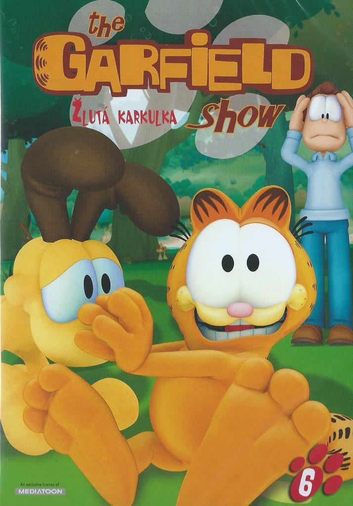 DVD The Garfield show 6 - �lut� karkulka