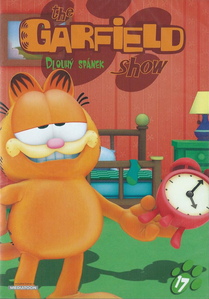 DVD The Garfield show 17 - Dlouhý spánek