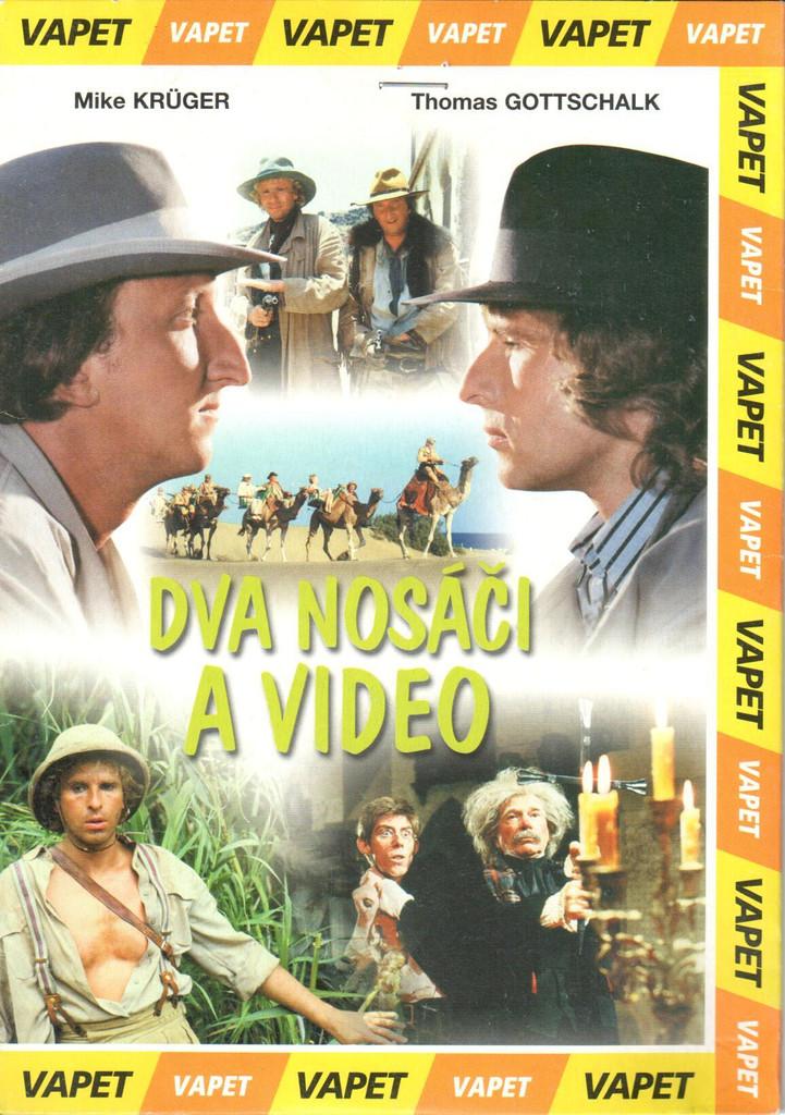 DVD Dva nos��i a video