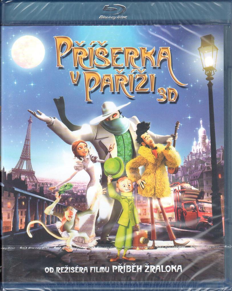 Blu-ray Příšerka v Paříži 3D