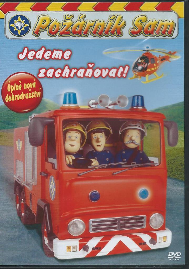 DVD Požárník Sam - Jedeme zachraňovat (plast)