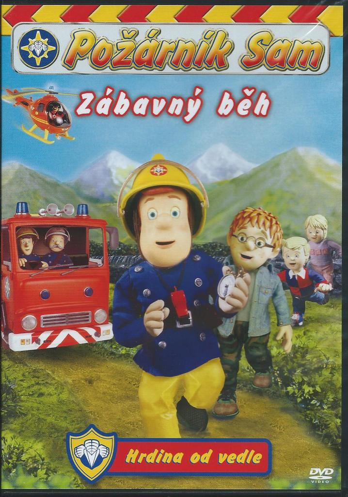 DVD Požárník Sam - Zábavný běh (plast)