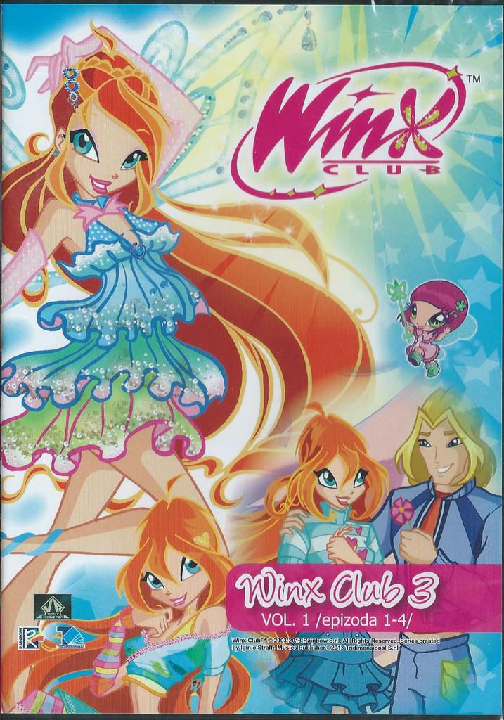 DVD WinX Club 3. s�rie DVD1
