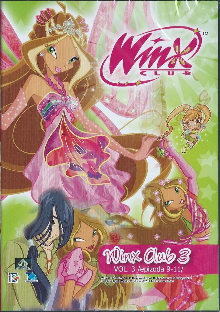 DVD WinX Club 3. s�rie DVD3