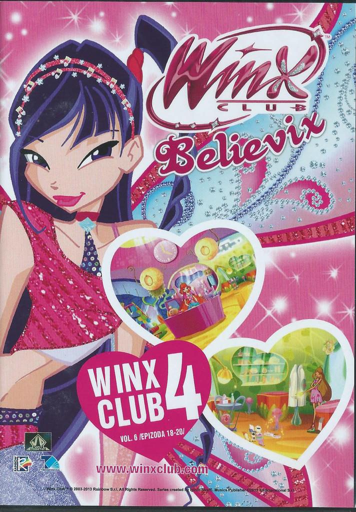 DVD WinX Club Believix 4. série DVD6