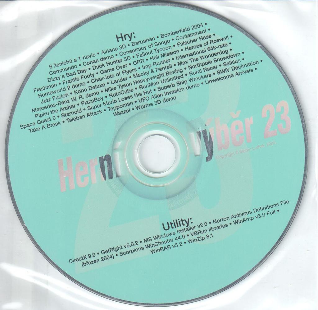 PC HRA Herní výběr 23