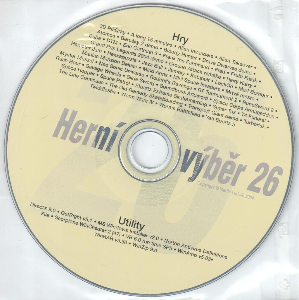 PC HRA Herní výběr 26