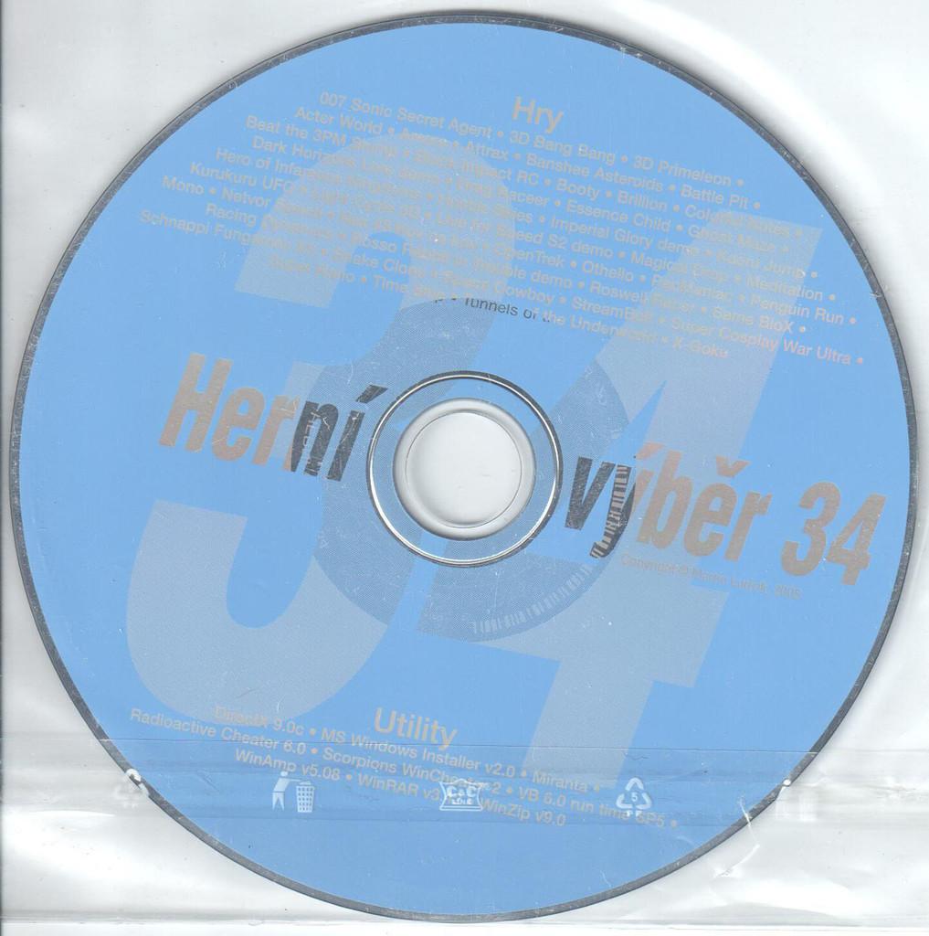 PC HRA Herní výběr 34
