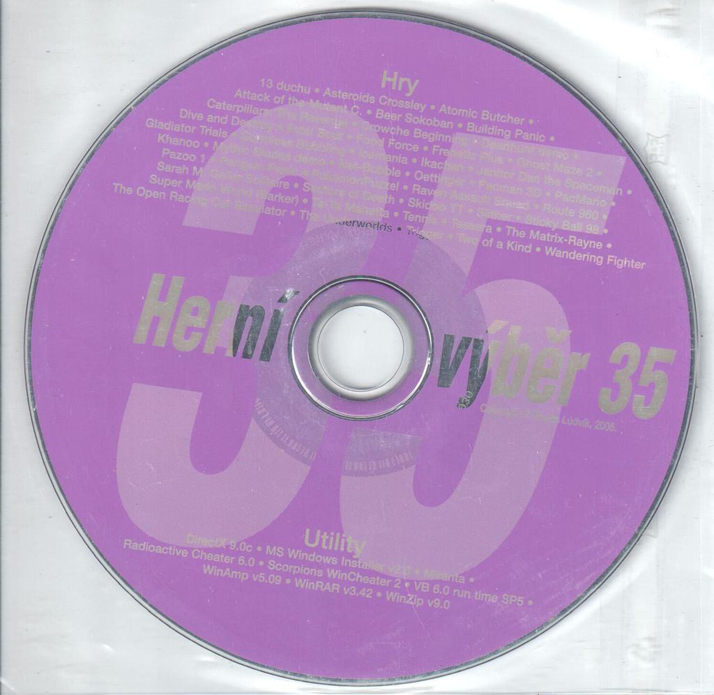 PC HRA Herní výběr 35