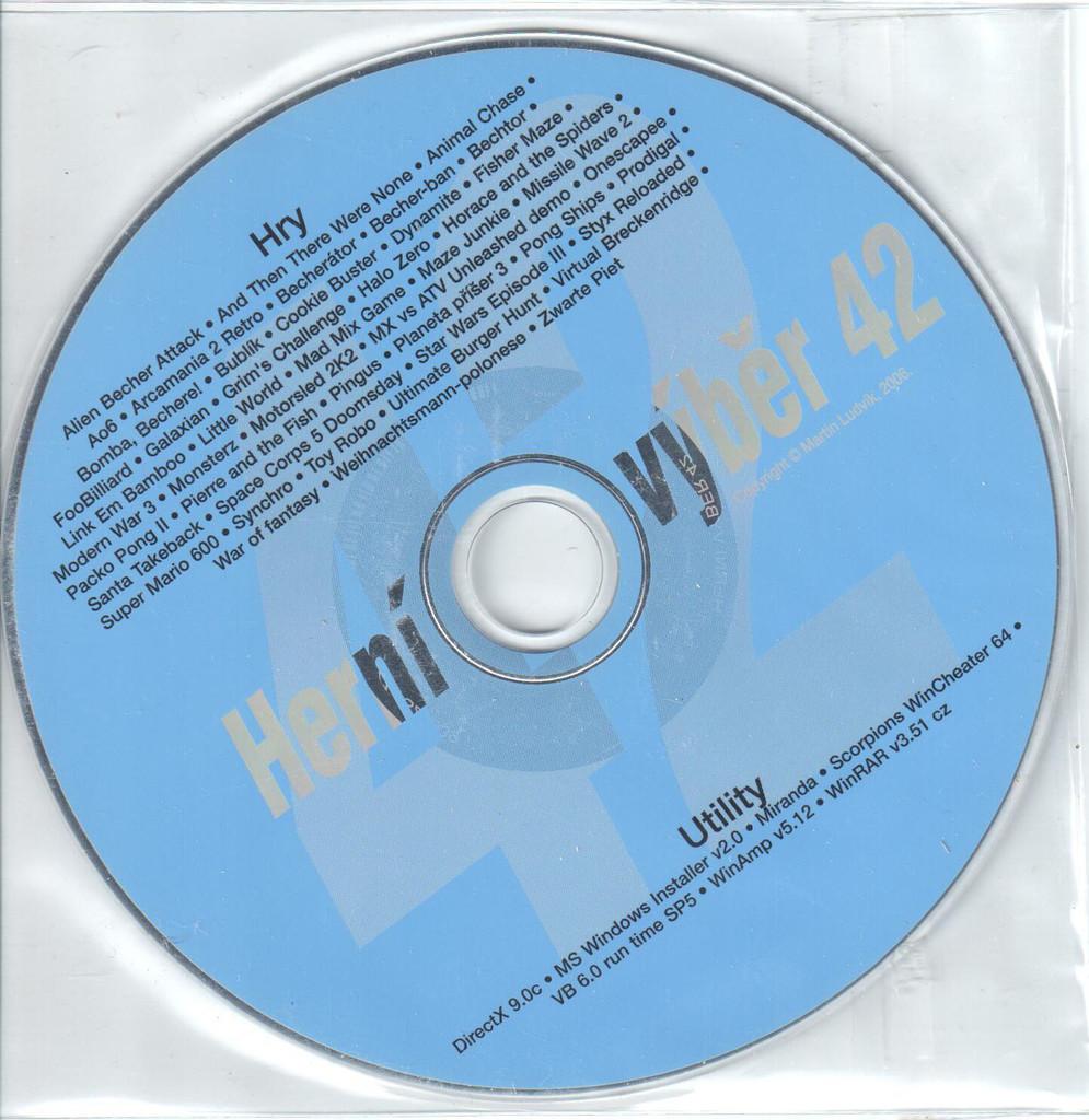 PC HRA Herní výběr 42
