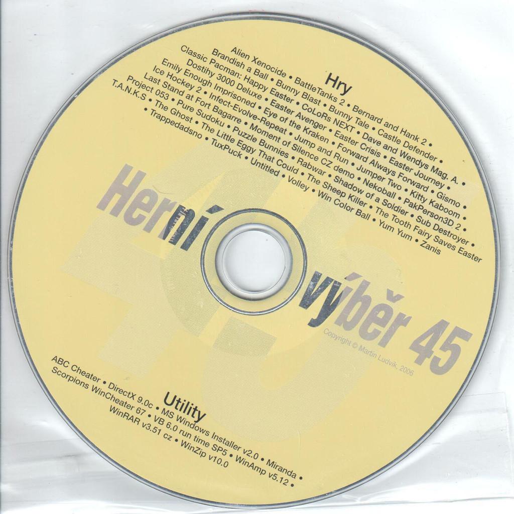 PC HRA Herní výběr 45