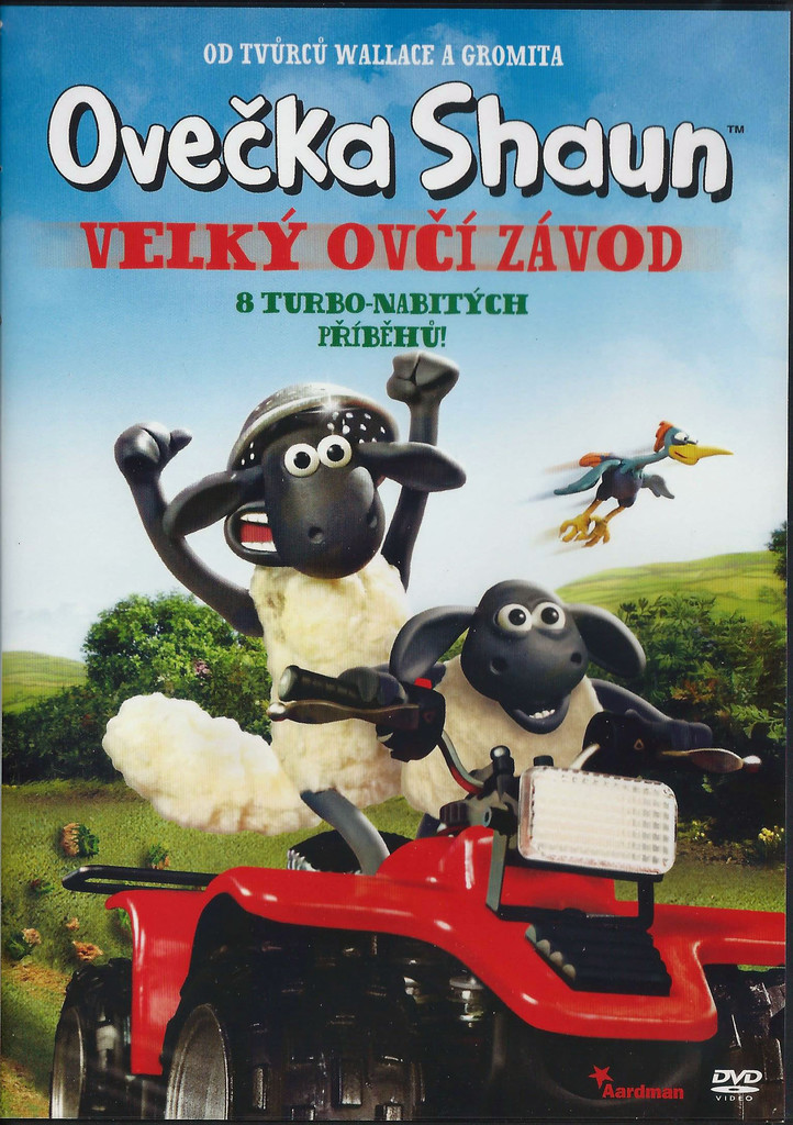 DVD Ove�ka Shaun - Velk� ov�� z�vod