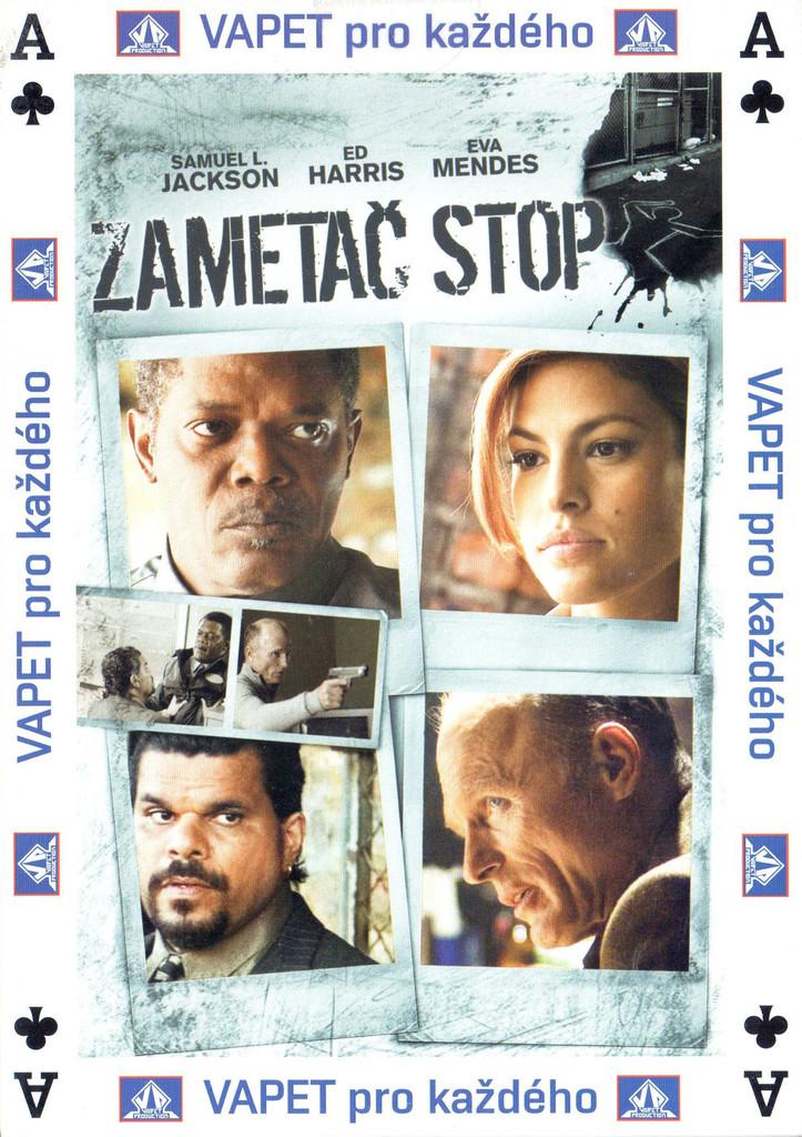 DVD Zametač stop