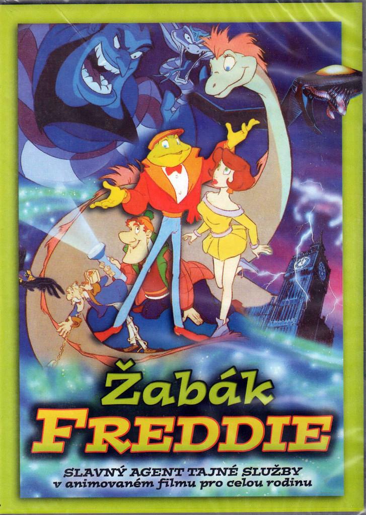 DVD �ab�k Freddie (Slim box)