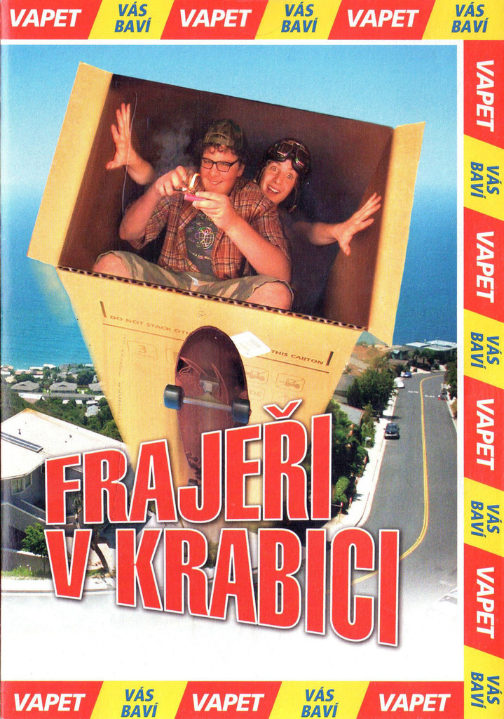 DVD Fraje�i v krabici