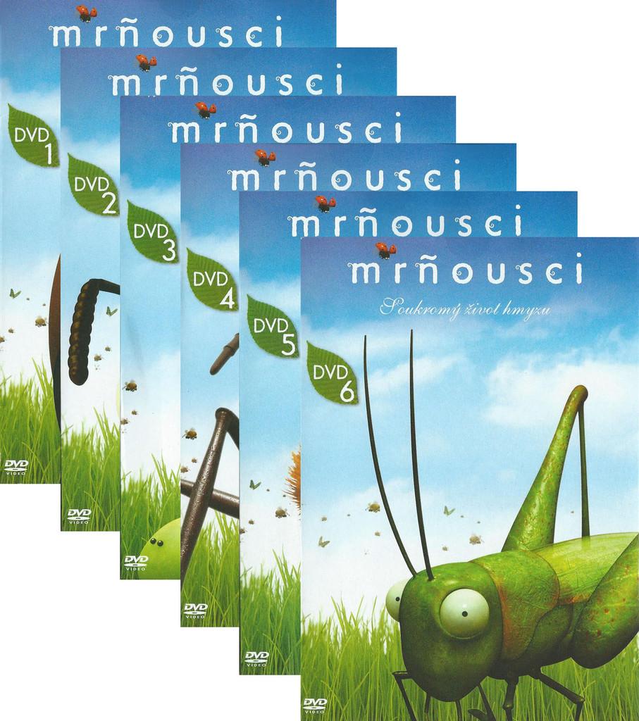 DVD Mr�ousci sada (6 DVD)
