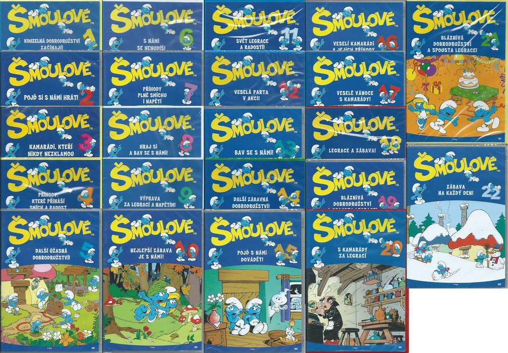 DVD �moulov� sada (22 DVD)
