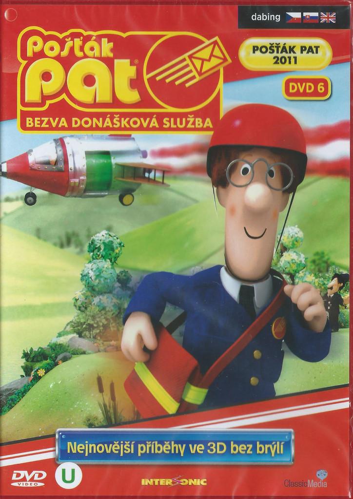 DVD Pošťák Pat - Bezva donášková služba DVD 6