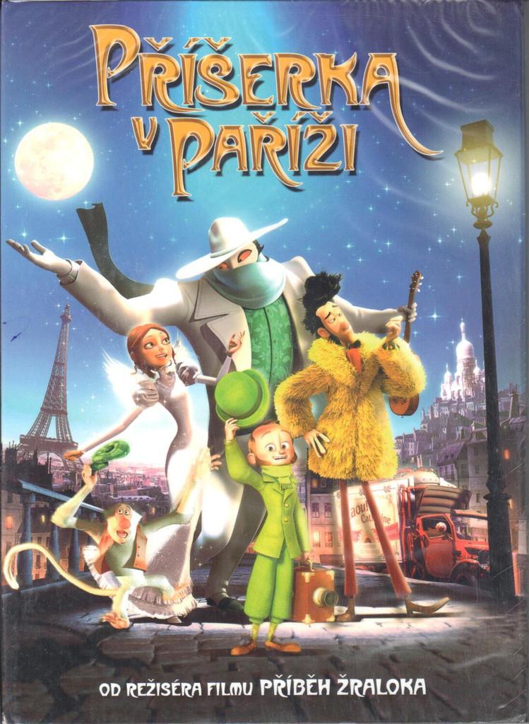 DVD Příšerka v Paříži