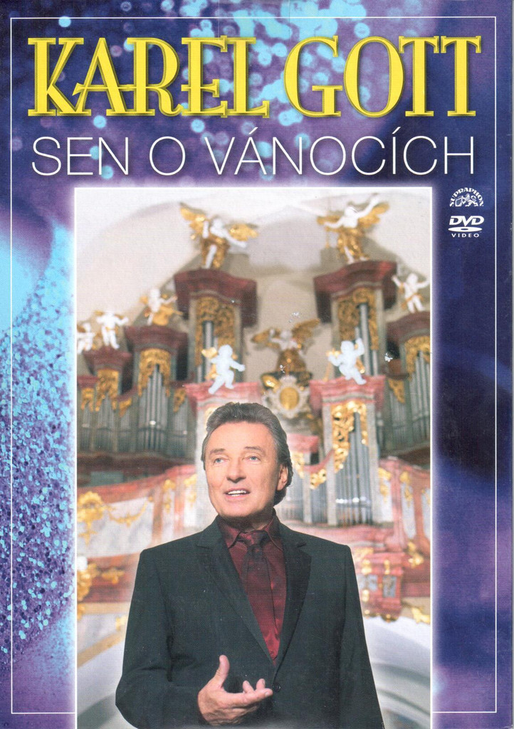 DVD Karel Gott - Sen o vánocích