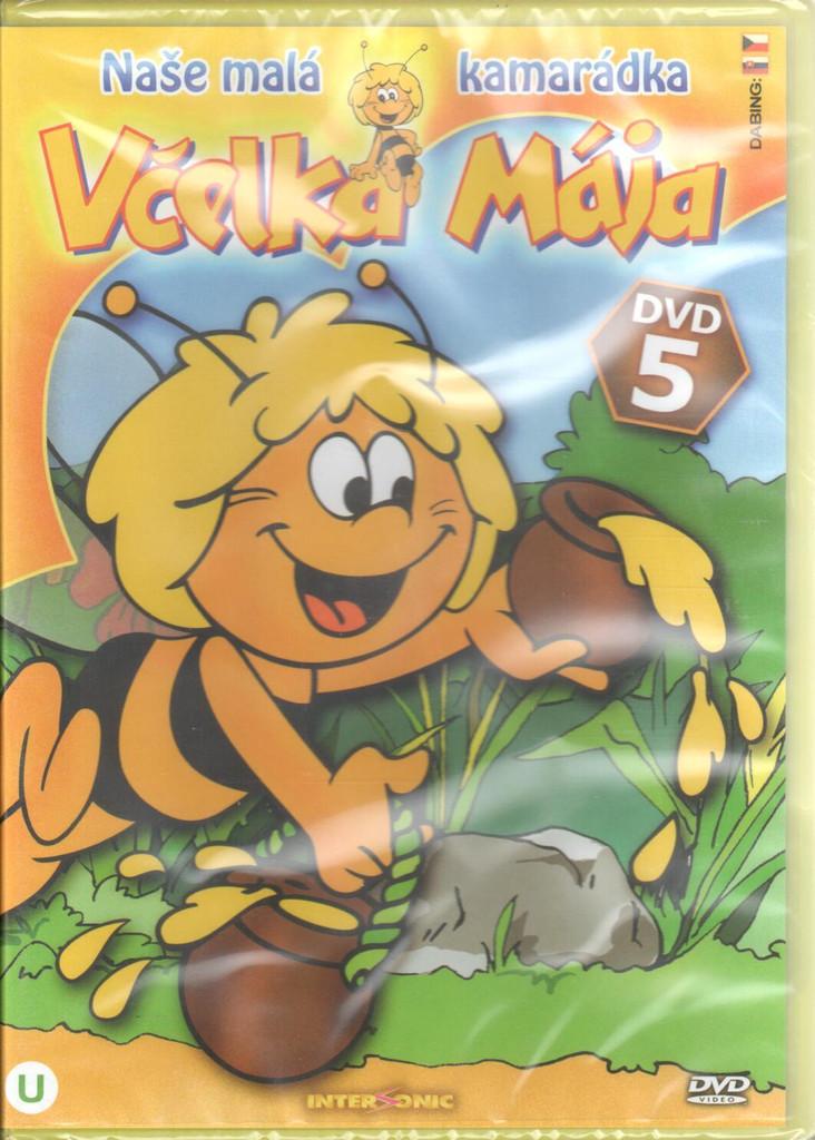 DVD Včelka Mája DVD 5
