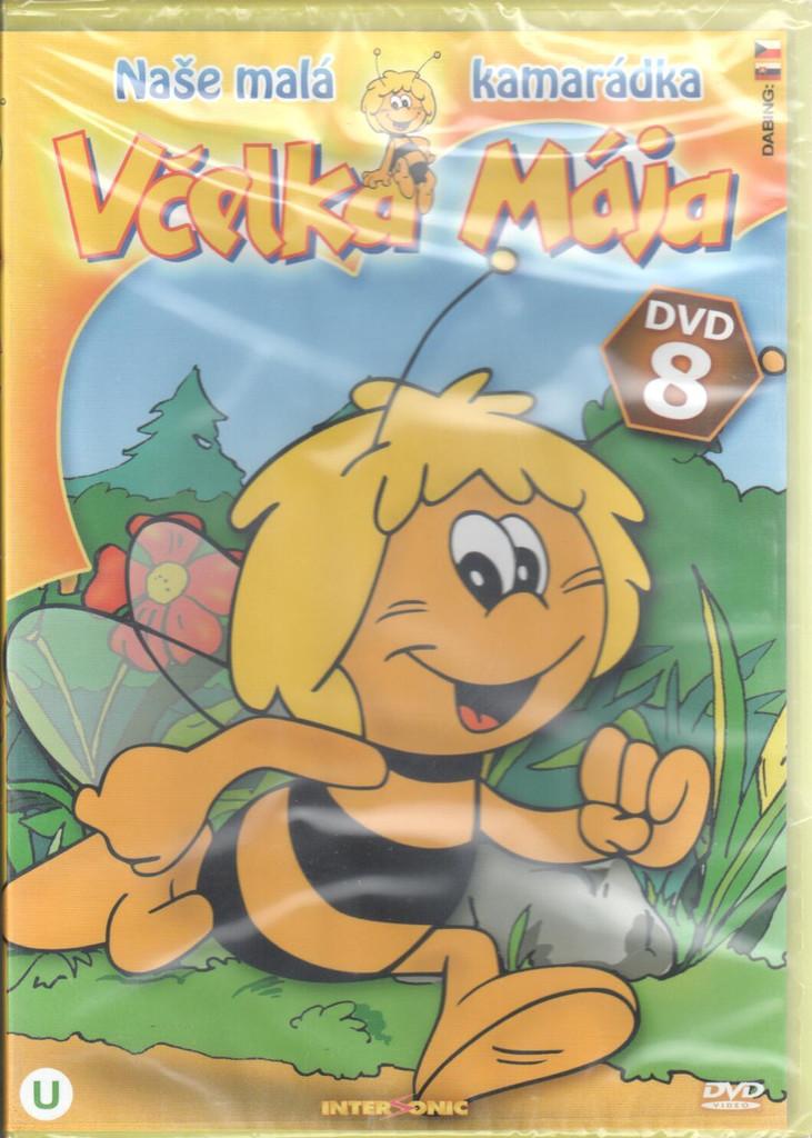 DVD Včelka Mája DVD 8