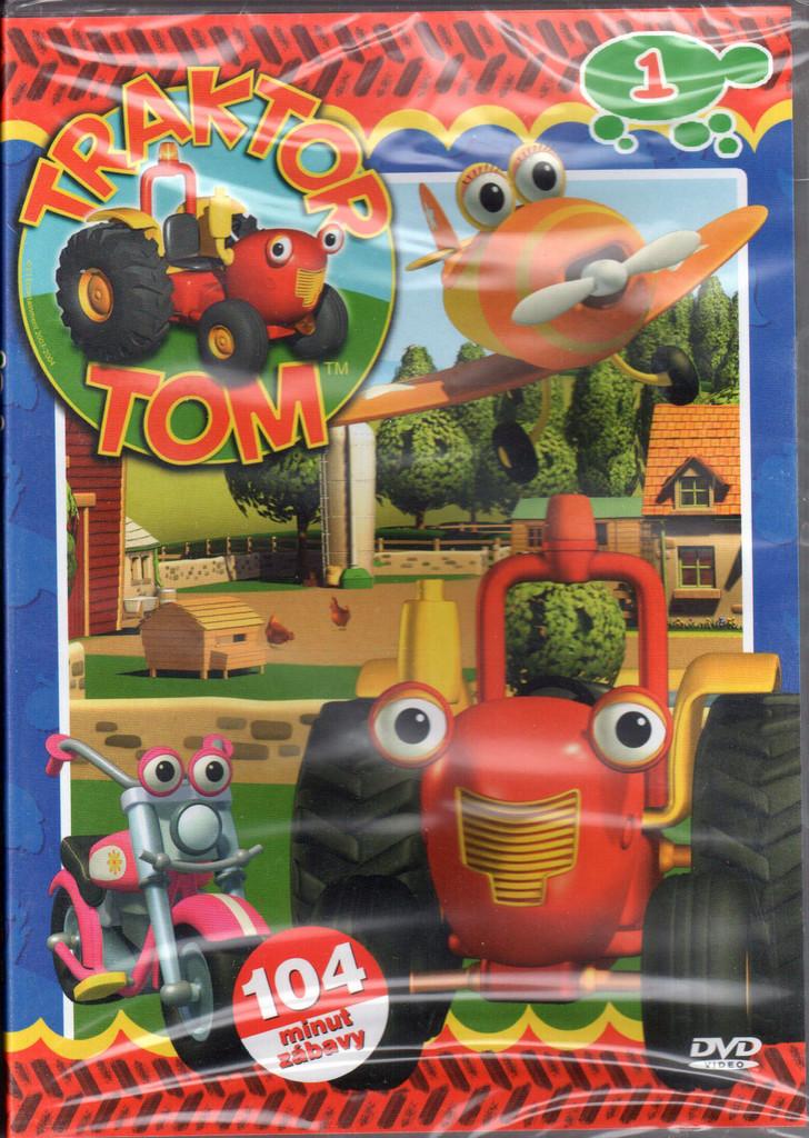 DVD Traktor Tom 1