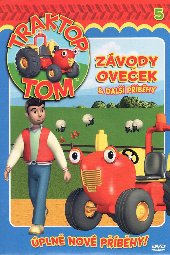 DVD Traktor Tom 5 - Závody oveček & další příběhy