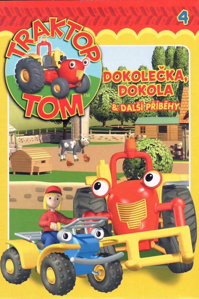 DVD Traktor Tom 4 - Dokole�ka, dokola & dal�� p��b�hy