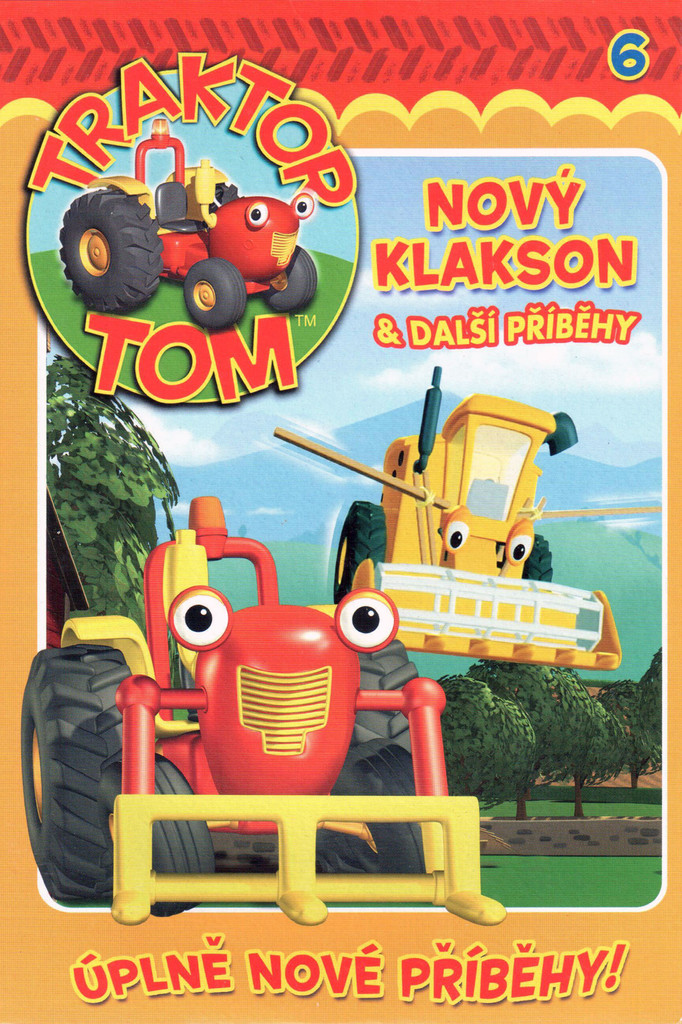 DVD Traktor Tom 6 - Nový klakson & další příběhy