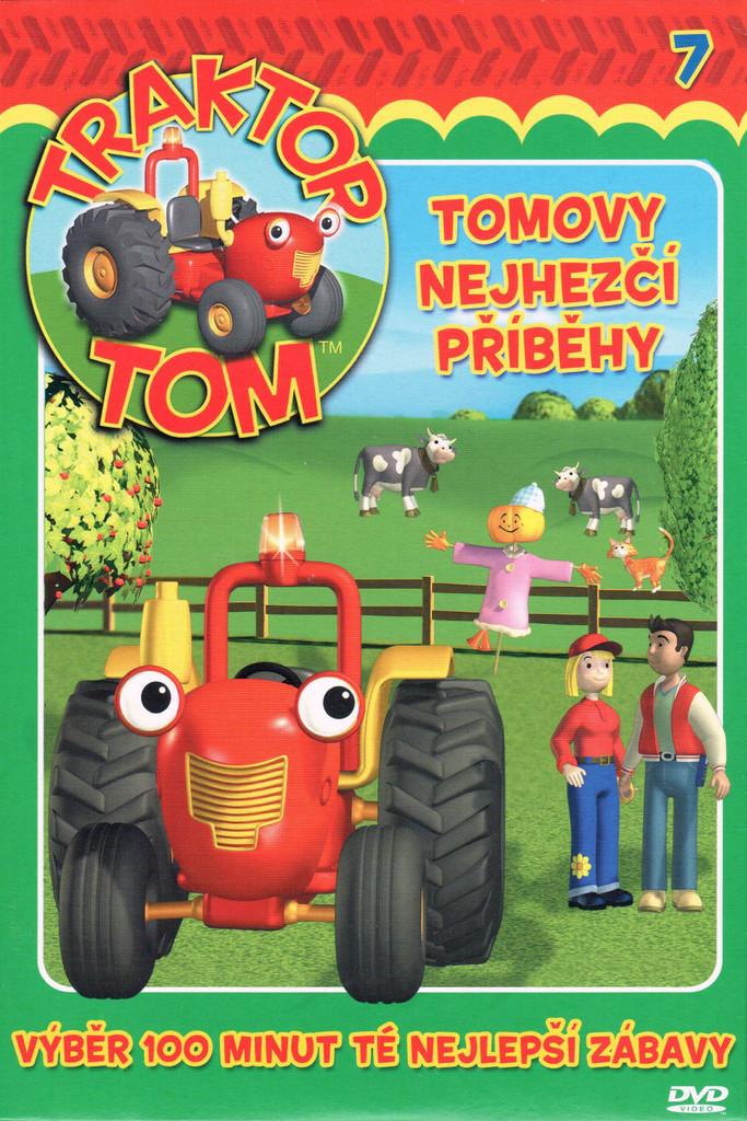 DVD Traktor Tom 7 - Tomovy nejhezčí příběhy