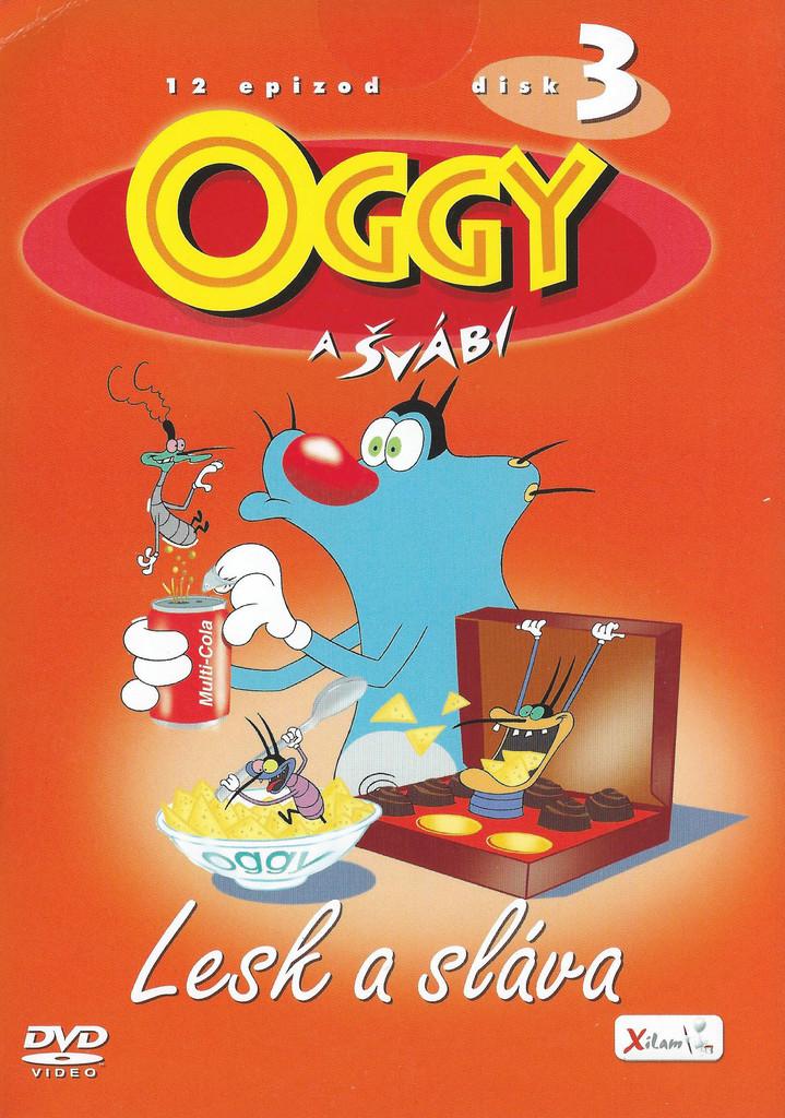 DVD Oggy a švábi 3 - Lesk a sláva