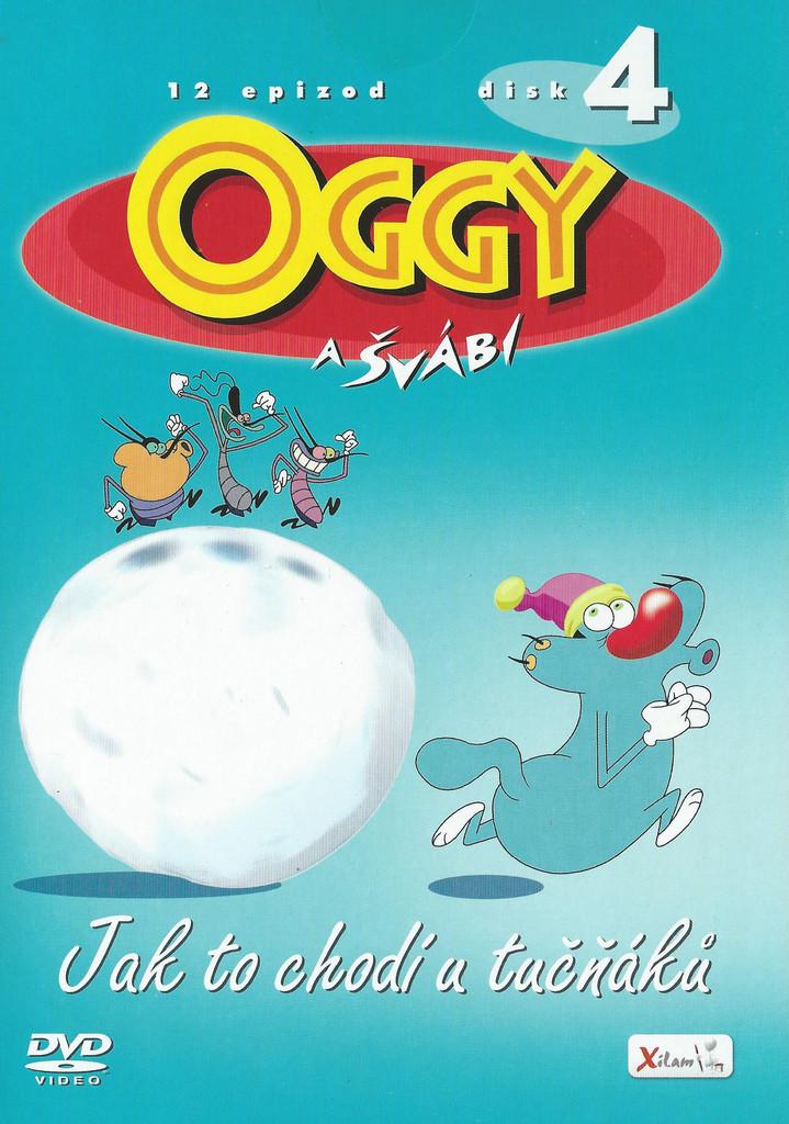 DVD Oggy a �v�bi 4 - Jak to chod� u tu���k�