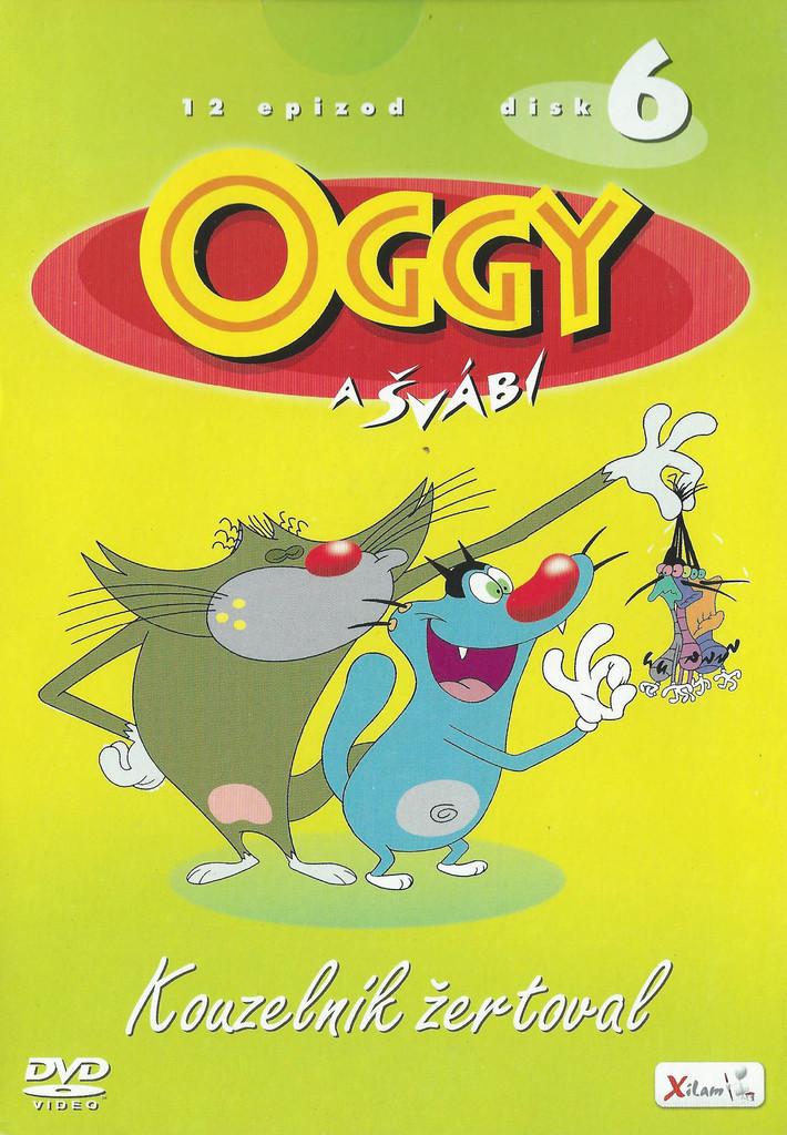 DVD Oggy a švábi 6 - Kouzelník žertoval