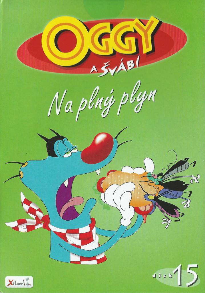 DVD Oggy a švábi 15 - Na plný plyn