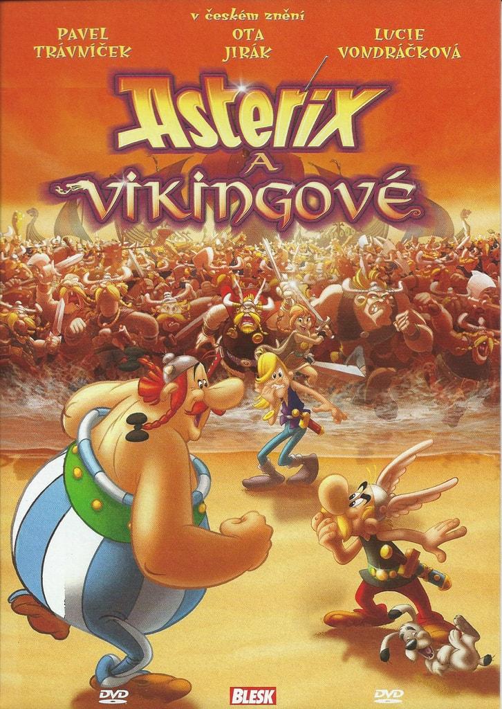 DVD Asterix a Vikingov� (slim)